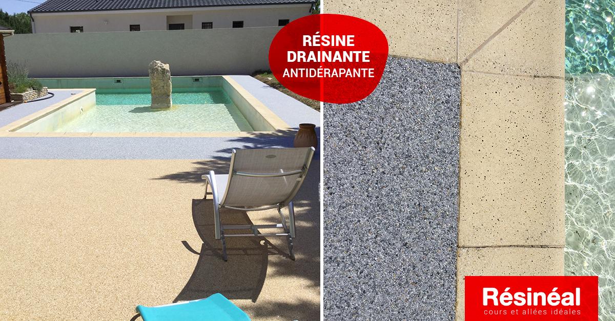 aménagement contour de piscine