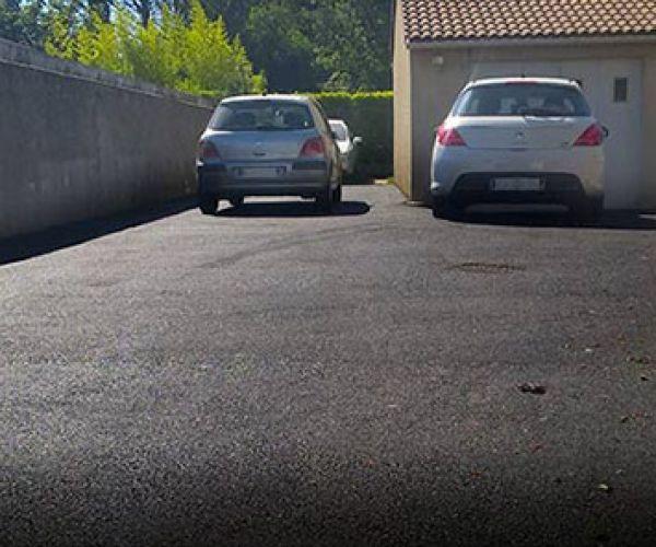 allée accès garage