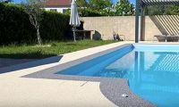 contour piscine résinéal