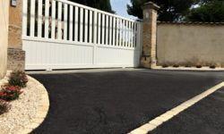 devanture de portail résinéal